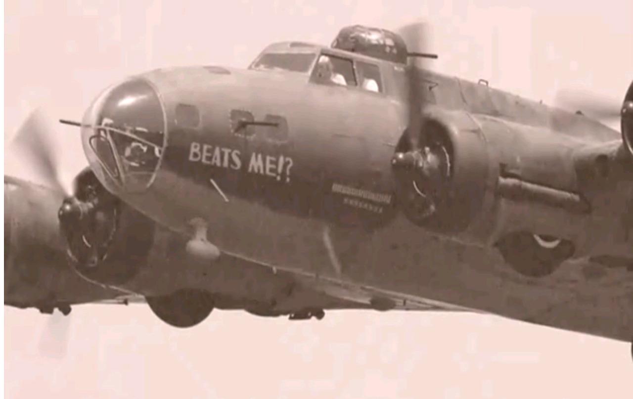 Le B-17 « Beats Me !? »