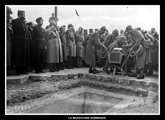 Inhumation solennelle du Soldat inconnu, le 28 janvier 1871